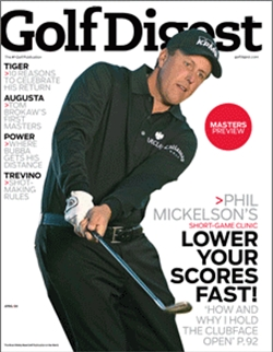 Golf Digest Magazine, выпуск № 4