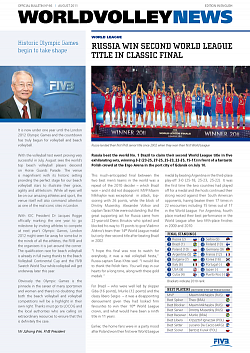 World Volley News, выпуск № 66 (66)
