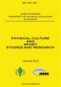 Physical Culture and Sport. Studies and Research