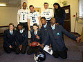 Jets spread the word against bullying