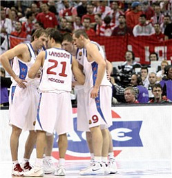 The CSKA Moscow Offensive System: Season 2008-2009