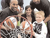Basketball In The Community: Newcastle Eagles